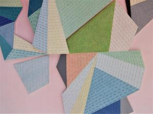 Little fractured Quilt (detail 1)